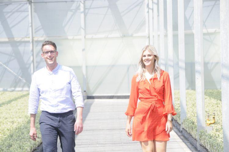 Dorus Rijkers en Lisa Wouters