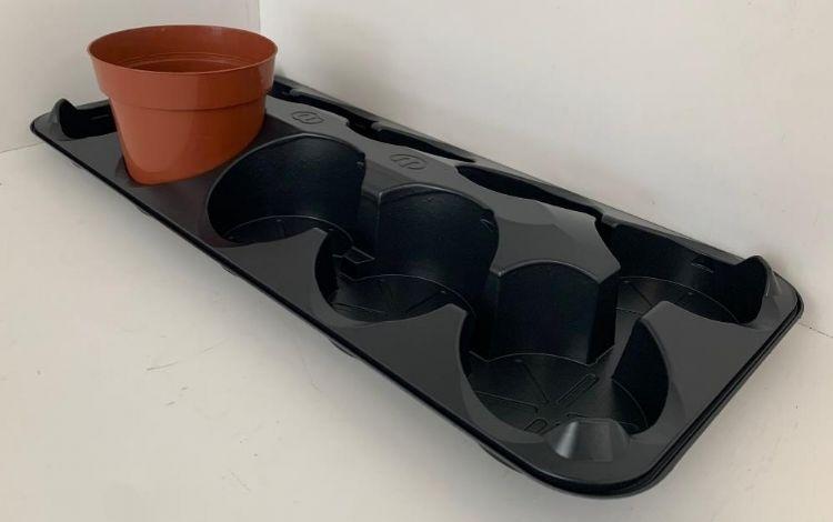 Tray voor 12-centimeterpot