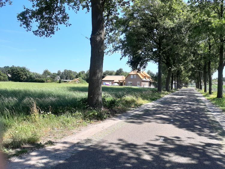 Van Gerwens woning wordt momenteel gebouwd.