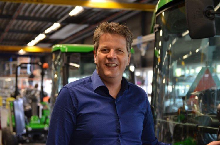 Edwin Beltman, area-salesmanager van Roberine