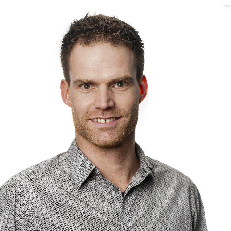 Martijn den Brok, accountmanager bij Lensli