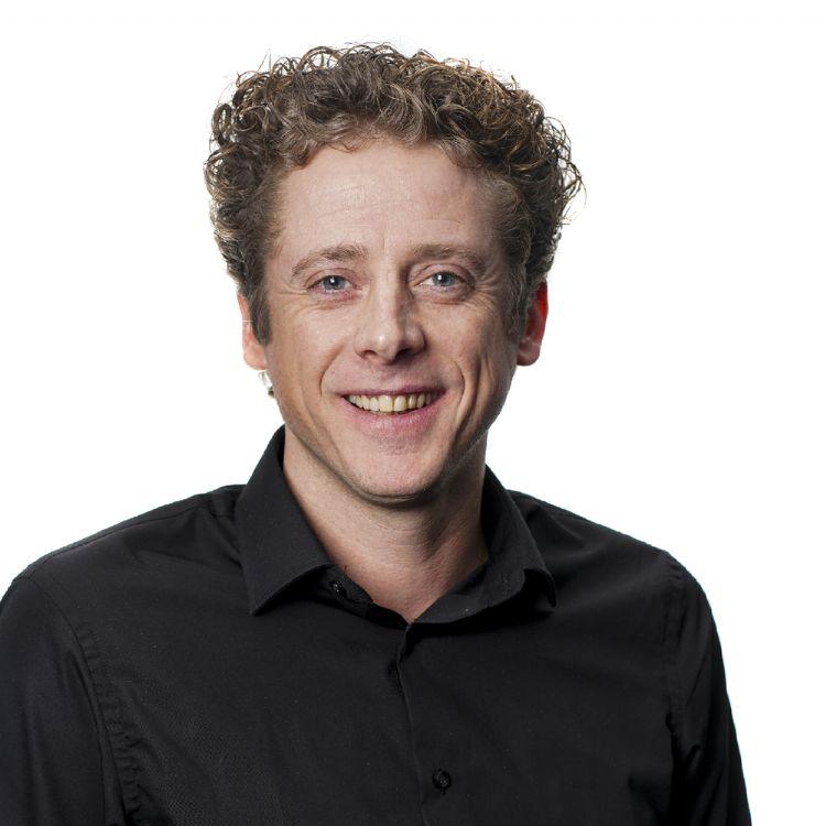 Rob Bierman, commercieel manager bij Lensli