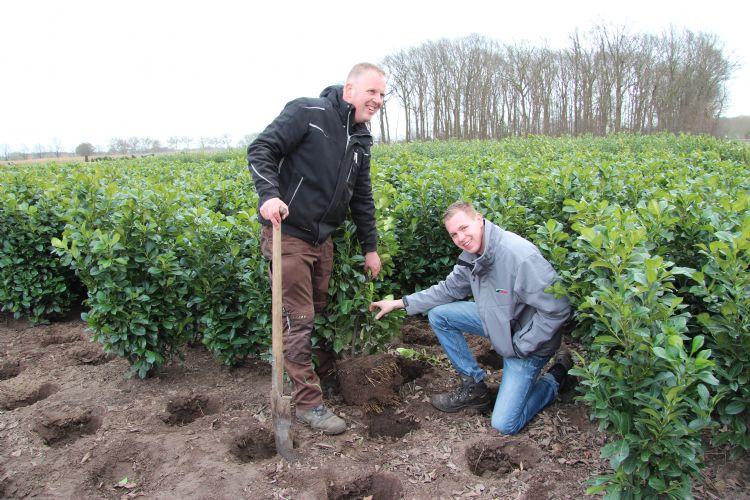 Wouter Veraart van Liwardi (links) en Bart Nelen van DCM