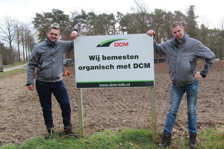 Michel Jongenelen (links) en Bart Nelen van DCM