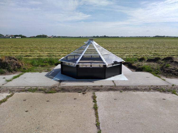 Remdry: een fytosanitair systeem om te voorkomen dat resten van gewasbescherming in het water terechtkomen. Foto: Syngenta