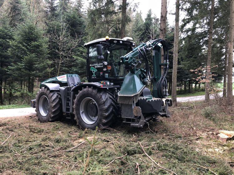De krachtige stobbenfrezen uit de Hemos-serie worden veel in de bosbouw ingezet.