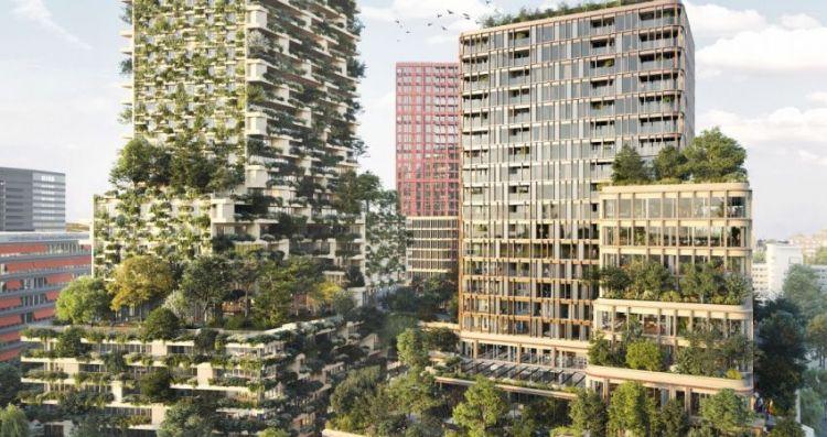 Ontwerp: MVSA Architects en Stefano Boeri Architetti