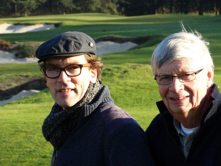 Michiel van der Vaart en Gerard Jol