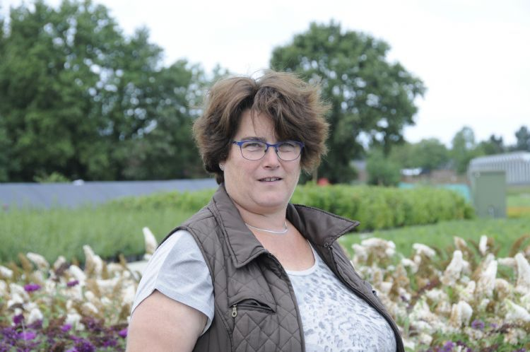Agnes Vermeeren van Esri Potcultures in Zundert.