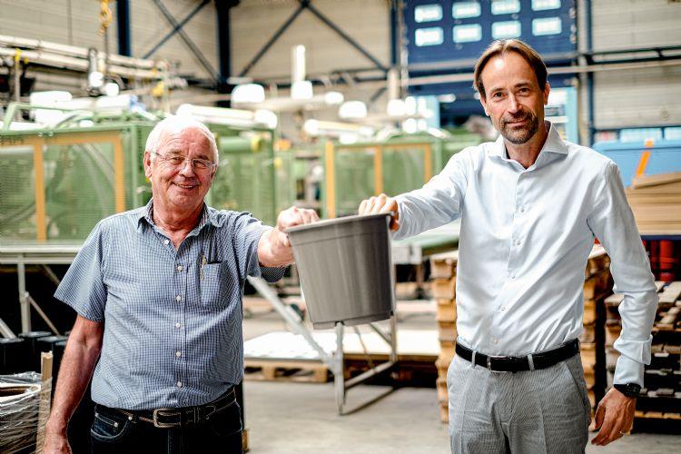 Henk Aufderaar en Jan Willem Wieringa