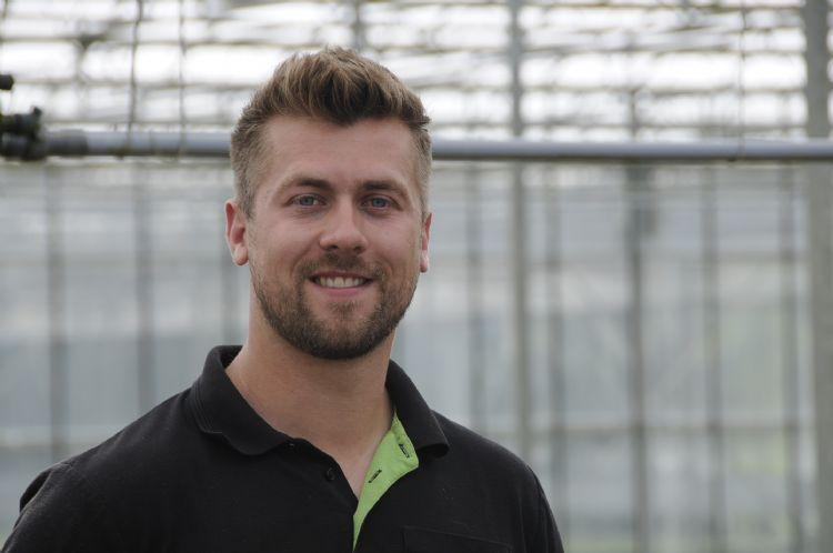Young grower Merijn Bloemen