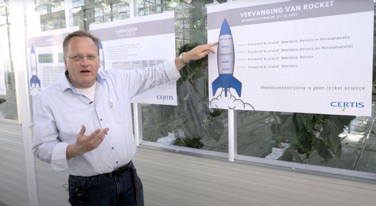 Joop de Hoog is technisch adviseur bij Certis Europe