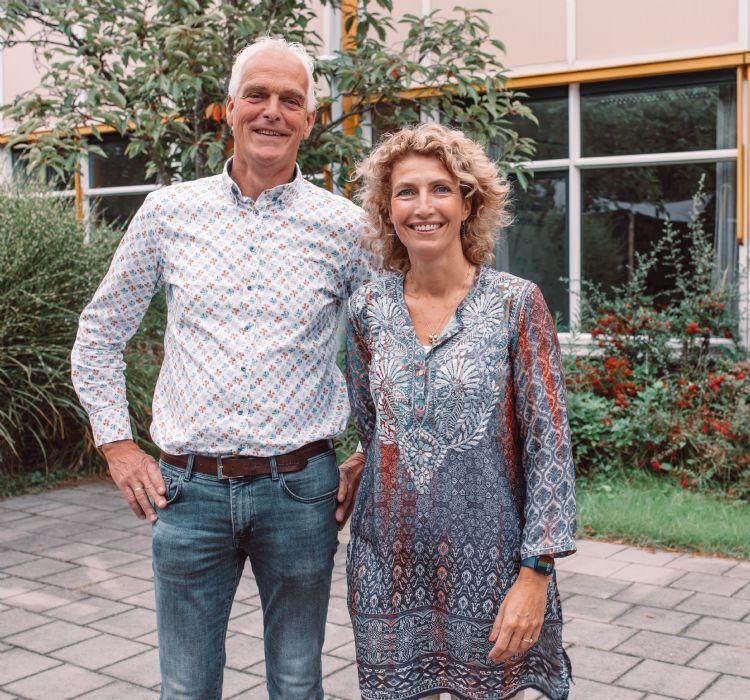 Peet Stolwijk en Marleen van Arendonk